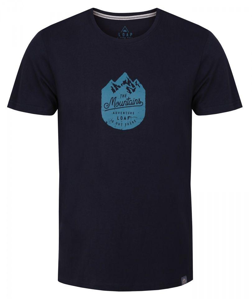 b8b9414c2bb7 Pánske štýlové tričko Loap