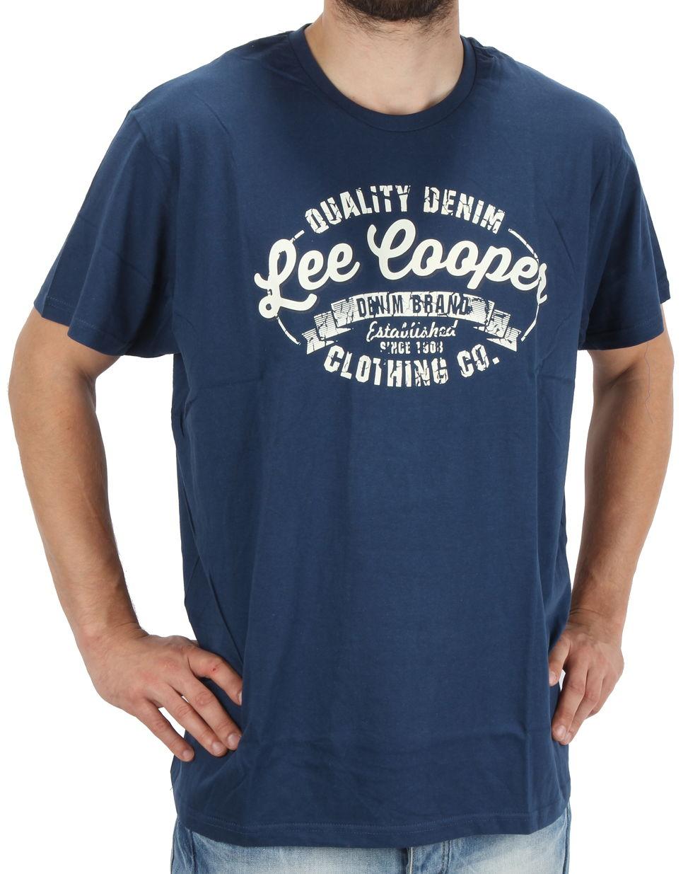 5b73d6225 Pánske tričko s krátkymi rukávmi Lee Cooper | hejmoda.sk